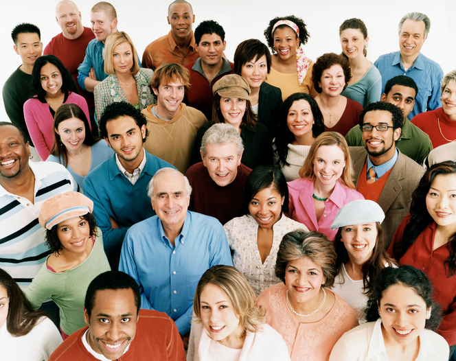 Multi-Cultural Group of People, illustrating Section 1557 compliance